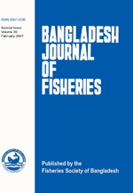 Bangladesh Journal of Fisheries Vol 30 2007