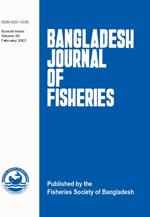Bangladesh Journal of Fisheries Vol 30 2007