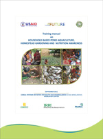 Training manual on Household Based Pond Aquaculture, Homestead Gardening and Nutrition Awareness