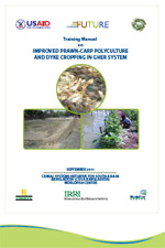 Training Manual on Improved Prawn-Carp Polyculture and Dyke Cropping in Gher System